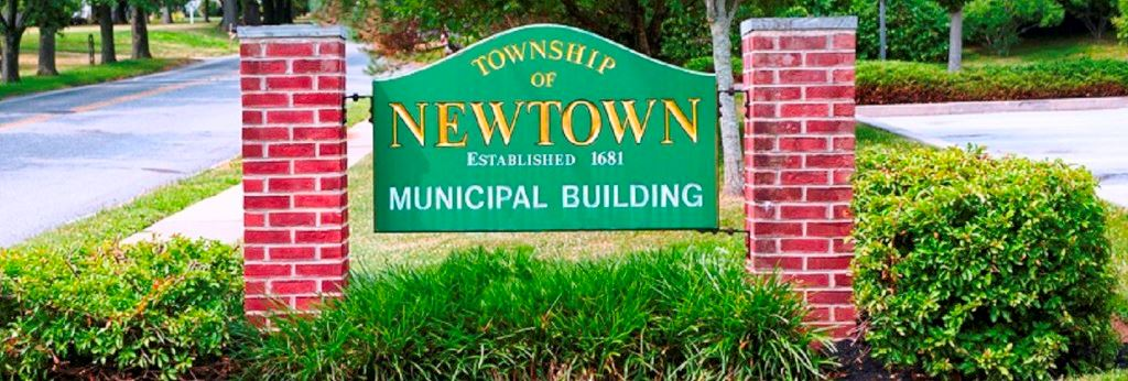 Newtown Municipal Building Sign