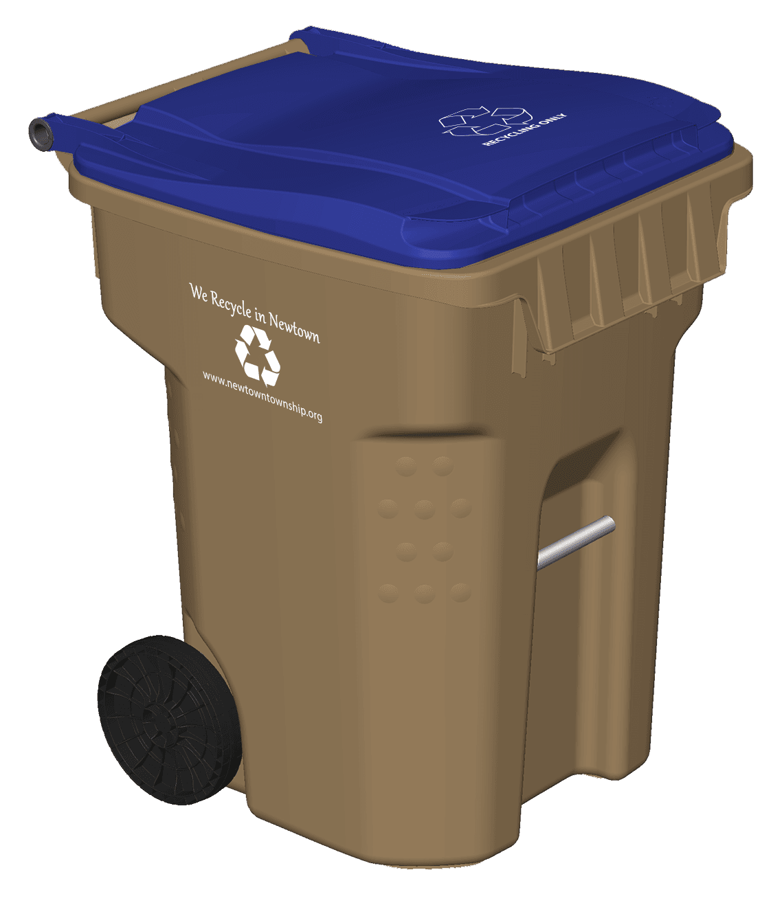 Newtown Township Recycling Cart 1