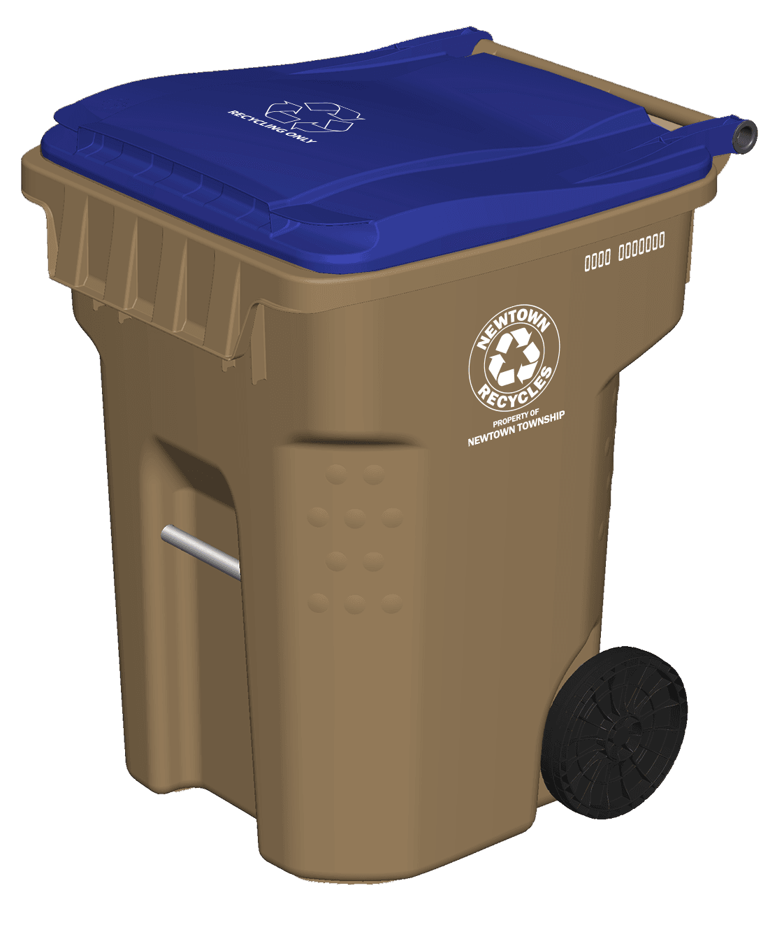 Newtown Township Recycling Cart 2